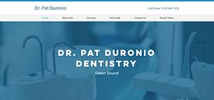 Simply Dentistry Owen Sound Screen Shot.