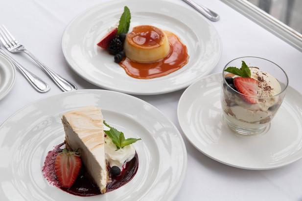 Dessert Trio