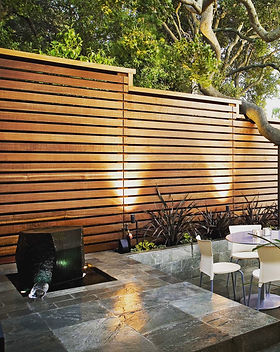 Custom Design Wooden Fence