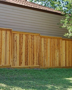 Pet Friendly Wooden Fence