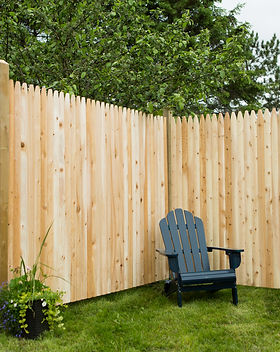 Privacy Stockage Wooden Fence