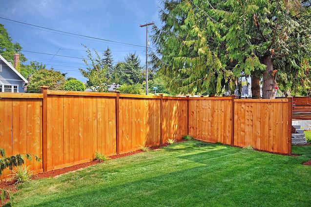 Modern Privacy Fence in Everett, WA
