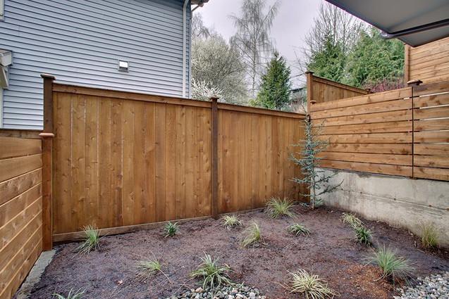 Wooden Fence in Seattle, WA