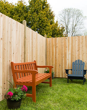 Privacy Dog Ear Wooden Fence