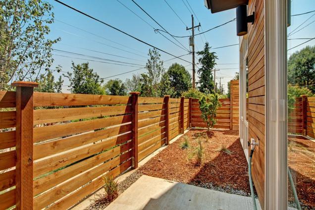 New Siding Needs New Fence in Renton, WA