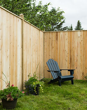 Flat Top Picket Wooden Fence