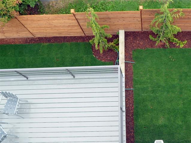 Modern Wood Fence in Kenmore, WA