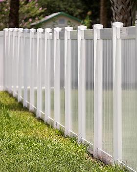 Custom Design Vinyl Fence