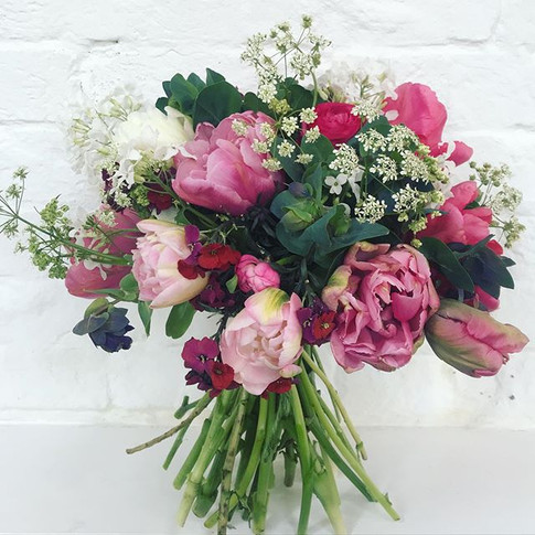 Easter Birthday bouquet 💕  #springflowe