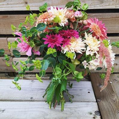 Autumn birthday bouquet 🍁🥳 #flowersfro
