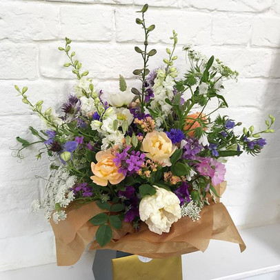 A whopper of a bouquet gifted with our y