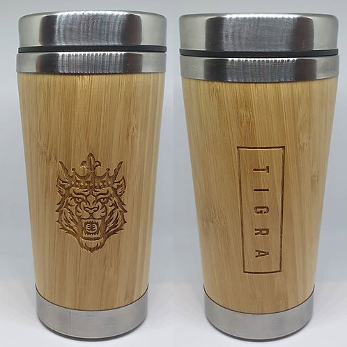 Bamboo Stainless Steel Insulated Mug