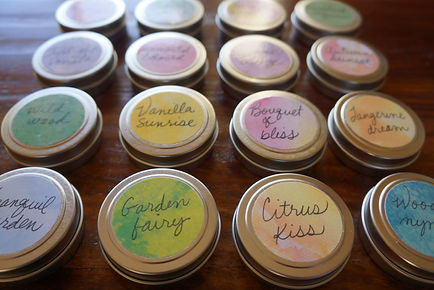 Solid perfumes by Sharon Jong, artist in Edmonton, Alberta