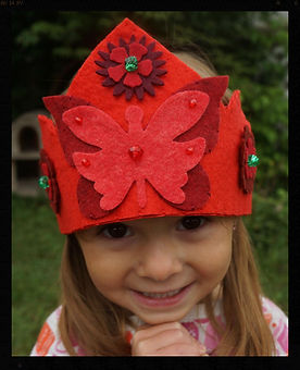 Butterfly crown, Sharon Jong, Edmonton birth doula & artist