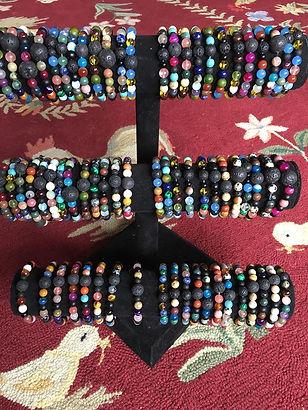 aromatherapy bracelet by artist Sharon Jong of Edmontn, Alberta