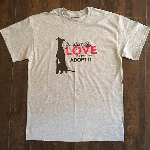Greyhound Grey T-shirt