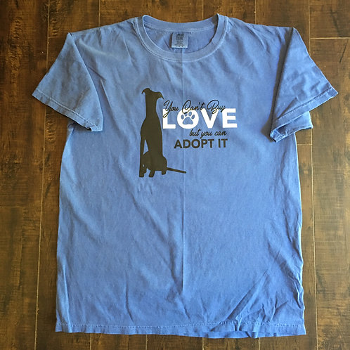 Greyhound Periwinkle Comfort Colors T-Shirt