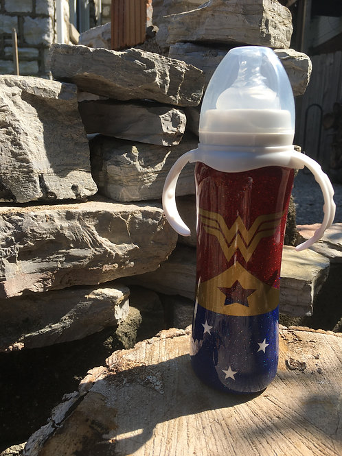 WW Inspired 8oz Stainless Steel Baby Bottle