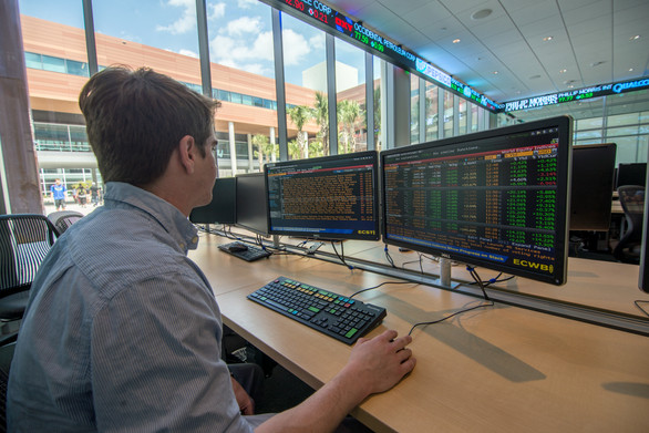 Bloomberg Trading Room