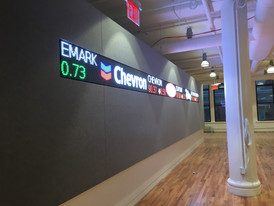 Lobby LED Ticker