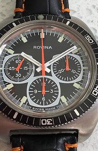 Vintage Rovina chronograph.