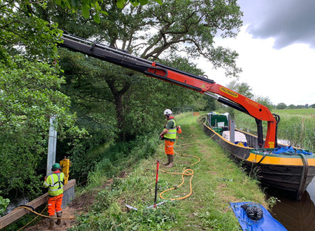 Llangollen Canal Banks on the Rothen Groups Expertise