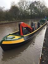 70Ft Crane Boat