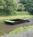 small work punt for shallow watercourses