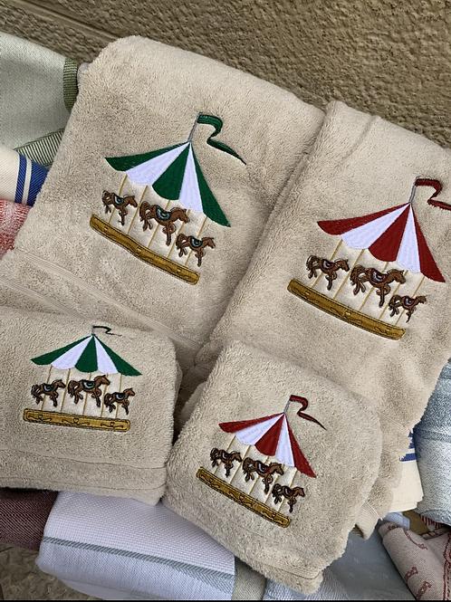 Asciugamani Giostra di Cavalli