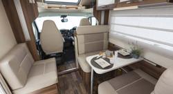 Comfortable Cabin Seating