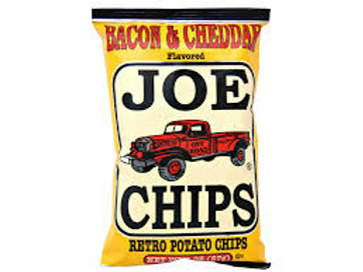 Joe Bacon & Cheddar Chips