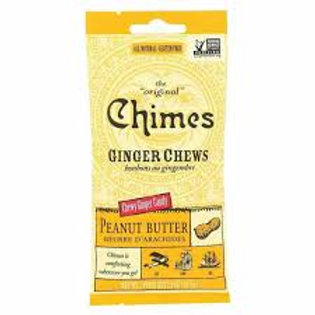 Chimes Peanut Butter Giner Chew