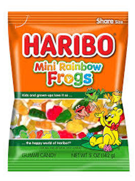 Haribo Mini Rainbow Frogs Peg