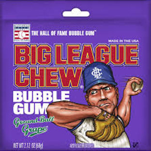 Big League Grape Gum