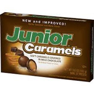 Junior Caramels theatre box