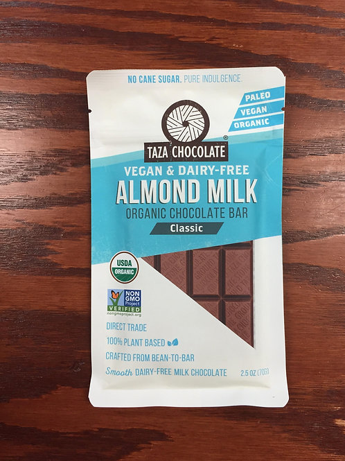 Taza Almond Milk Classic Bar