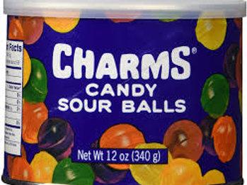 Charms Sour Balls Tin