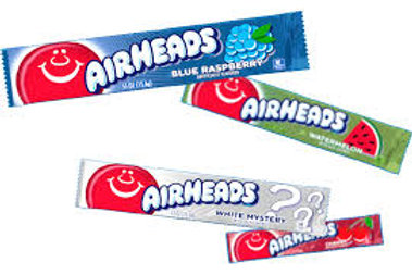Airheads, many flavorrs