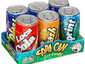 Soda Pop Fizzy Candy