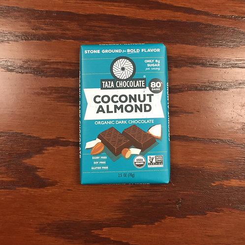 Taza Bar Coconut Almond