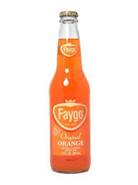Faygo Orange soda