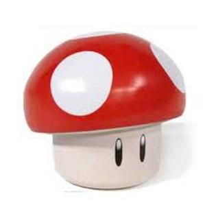 Mario mushroom, tin