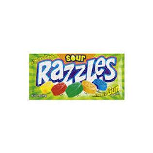 Sour Razzles Gum