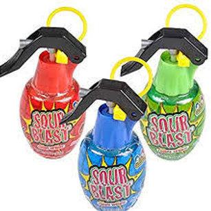Sour Blast grenade spray