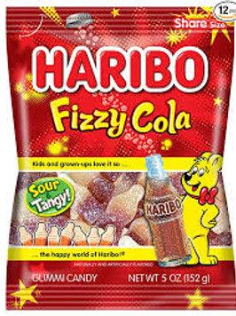 Haribo Fizzy Cola Peg Bag