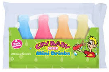 Cry Baby Sour Mini Drinks 5 pk