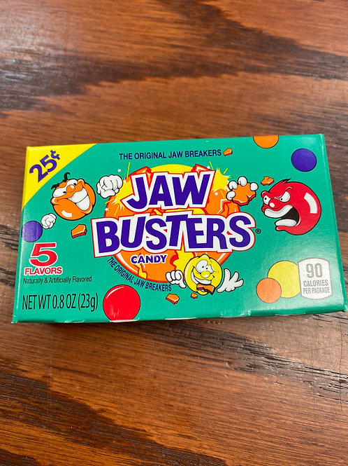 Jaw busters tiny box