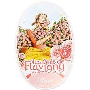Flavigny Rose mints tin