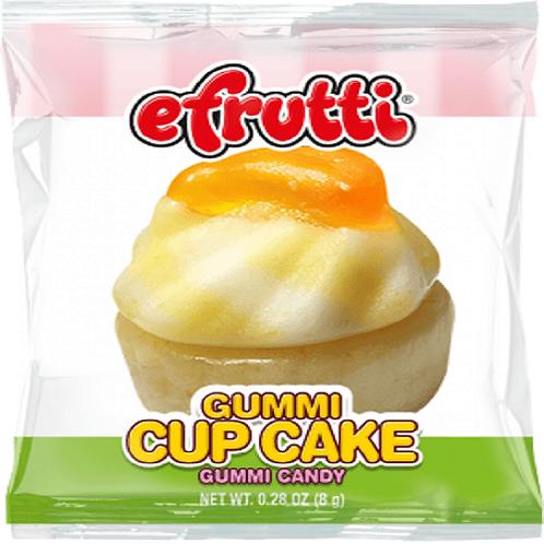 EFruitti gummi cupcakes