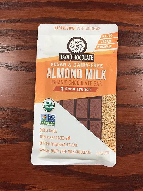 Taza Almond Mik Quinoa Crunch